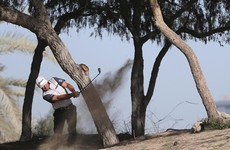 McDowell chasing leader Garcia after extreme winds cause delay in Dubai