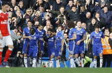 Chelsea blast past sorry Gunners to move 12 points clear at the top