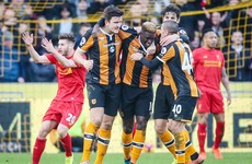 Disaster for Liverpool as Hull cause upset after Mignolet blunder