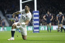 Te'o time! Ben's first England try enough to steal a nervy win over France