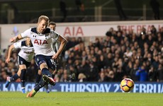 Harry Kane penalty does just enough to keep the title 'race' alive
