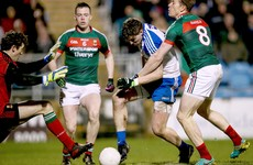 Hughes goal vital as 14-man Monaghan hold on for valuable opening night win over Mayo