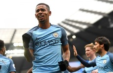 New boy Jesus proves Man City's saviour with injury-time winner
