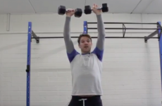 The42 Gym Series: Add these 3 killer shoulder exercises into your workout this week