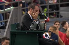 Canada bizarrely lose Davis Cup match after player smashes the ball into umpire's face
