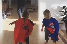 Chris Hemsworth playing superheroes with his kids will make you feel things... it's The Dredge