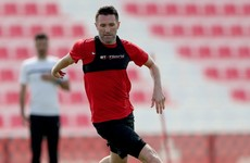 From LA to Dubai? Robbie Keane pictured training with Al-Ahli