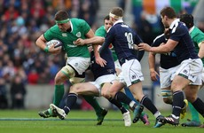 Irish players top stats for carries, clean breaks and turnovers in opening Six Nations round