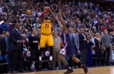 LeBron James makes jaw-dropping three-pointer to force overtime in 'instant classic'
