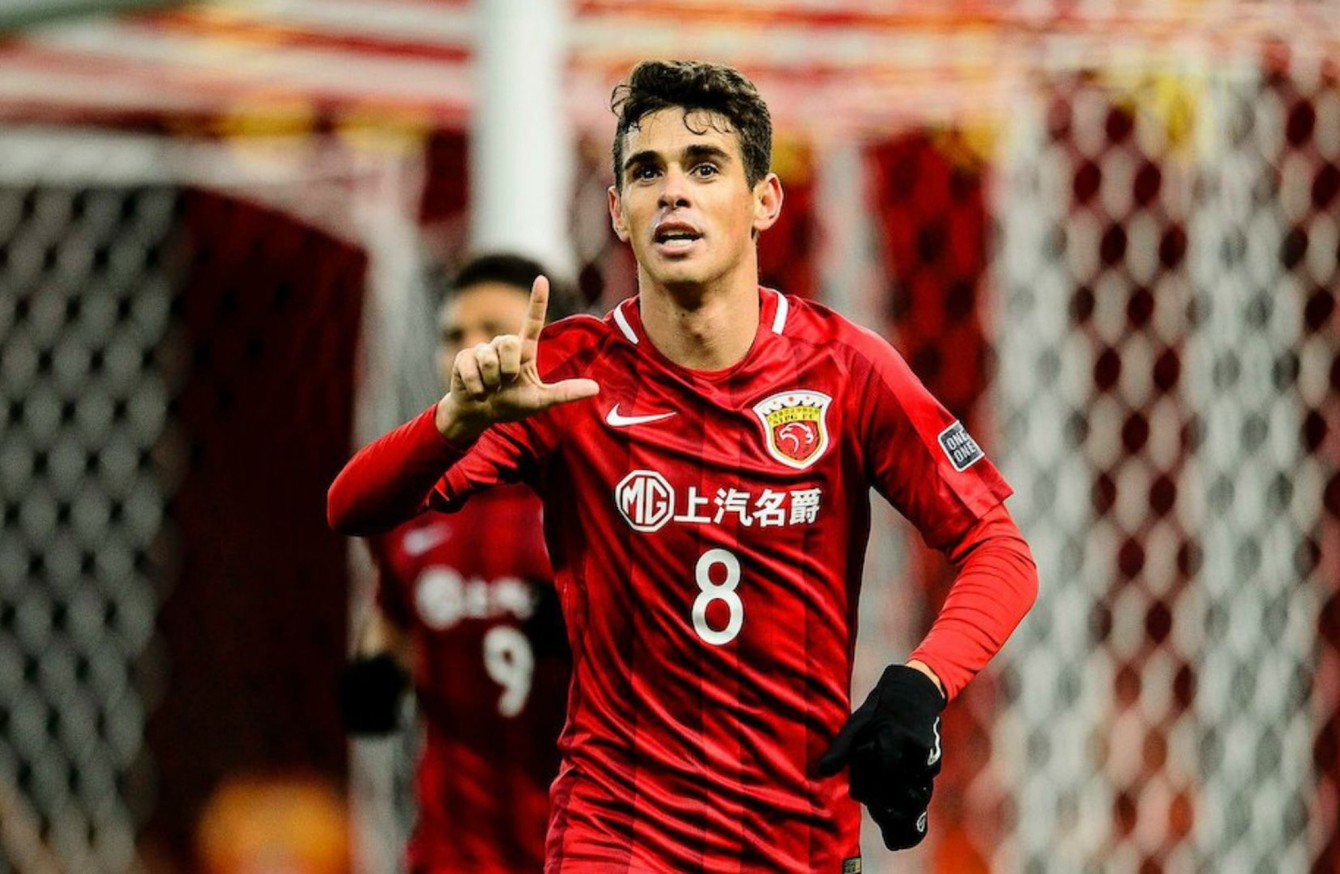 Watch: Oscar starts to repay €60 million fee with goal on ...
