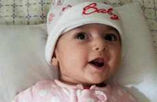 Iranian baby who was temporarily banned from US arrives at hospital for heart surgery