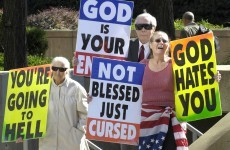 'God hates fags' family face Supreme Court action