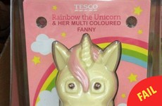Tesco Ireland is not selling these unfortunately-named Unicorn Easter eggs
