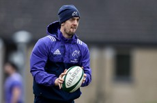 Return of Darren Sweetnam among 5 changes for Munster