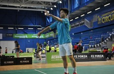 Irish teen sensation in the running for European badminton young player of the year