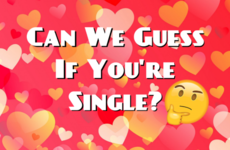 Can We Guess If You're Single?