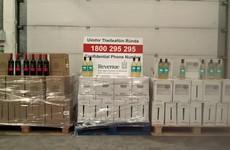 Over 780 litres of smuggled wine seized at Dublin Port