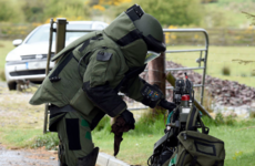 Three bombs discovered in vehicle during garda search in Kildare