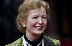 "Mary Robinson says she was ""bullied"" into stepping down as President early"