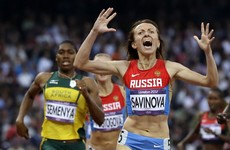 Caster Semenya in line to take London 2012 gold after another Russian is banned