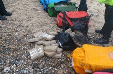 A huge amount of cocaine has washed up on two beaches in England