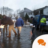 Storms Desmond and Frank: 'One year on, we need to rethink how we manage flood risk'