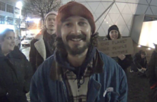 Threats and arrests end Shia LaBeouf's art project against Donald Trump