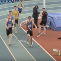 Spiderman attack! Runner denied first place because of pole vault mishap at Intervarsities