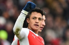 Alexis at the double for Gunners in controversial win