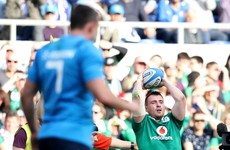Schmidt praises debutant Scannell after Ireland build big win from solid start
