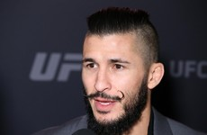 More misery for McCall as he's forced out of yet another UFC bout