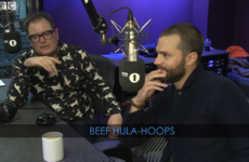 Jamie Dornan is just as mad for brown Hula Hoops as the rest of us