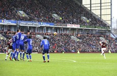 Robbie Brady bags his first goal for Burnley with beautiful free-kick against Chelsea