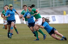 Ireland go top after late bonus point win in Italy