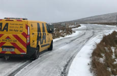 Watch: Motorists warned to stay away from Sally Gap due to snowy conditions