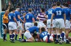 Clongowes withstand Mary's comeback to book place in Leinster Senior Cup semis