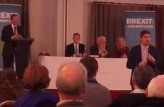 A Cork comedian managed to take the piss out of Enda Kenny's speech right in front of him last night