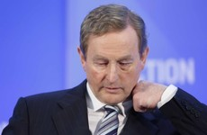 Enda broke Dáil rules today when he called Gerry Adams a 'hypocrite'