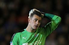 Newcastle's goalkeeper Karl Darlow conjured an absolute howler tonight