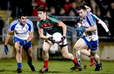 Mayo forward leaves senior squad due to work commitments