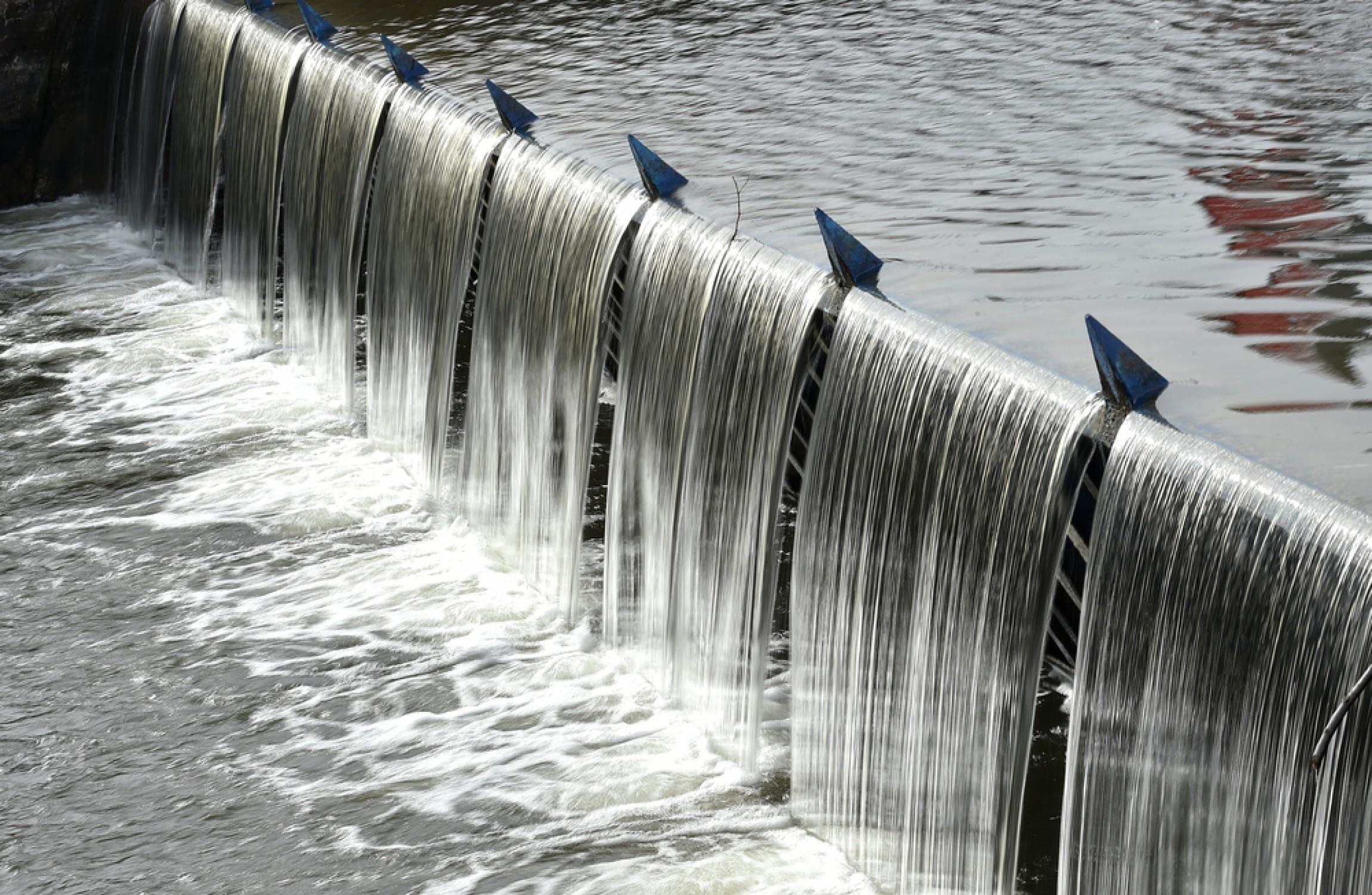 When waste water 24