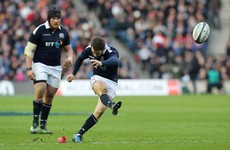 Huge blow for Scotland as injury rules captain Laidlaw out of Six Nations