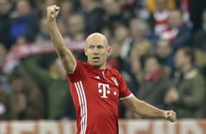Like a fine wine: Robben shows class with screamer to open scoring against Arsenal