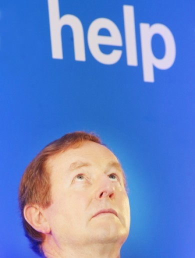 An unfortunate place to sit, Enda - but photos like this are harder to avoid than you might think