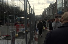 Luas works: 'Tourists don't come down the street but the Irish don't mind'