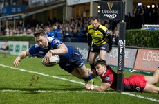 Injuries overshadow Leinster's six-try win as Cullen's men go top of Pro12