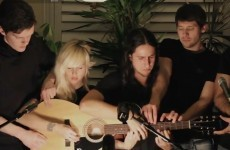 And the winner for the best song by 5 people on 1 guitar is...