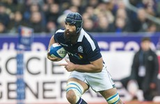 Lightning strikes twice for Scotland as they lose Josh Strauss through injury