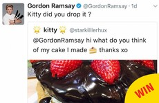 Gordon Ramsey has been brutally taking the piss out of people's cooking on Twitter