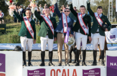 Ireland's showjumpers deliver under pressure to win $100,000 Nations Cup in Florida